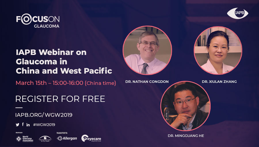 Focus on glaucoma webinar: China and West Pacific