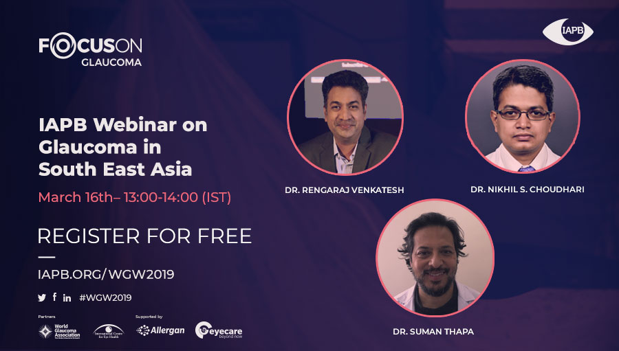 Focus On Glaucoma Webinar: South East Asia
