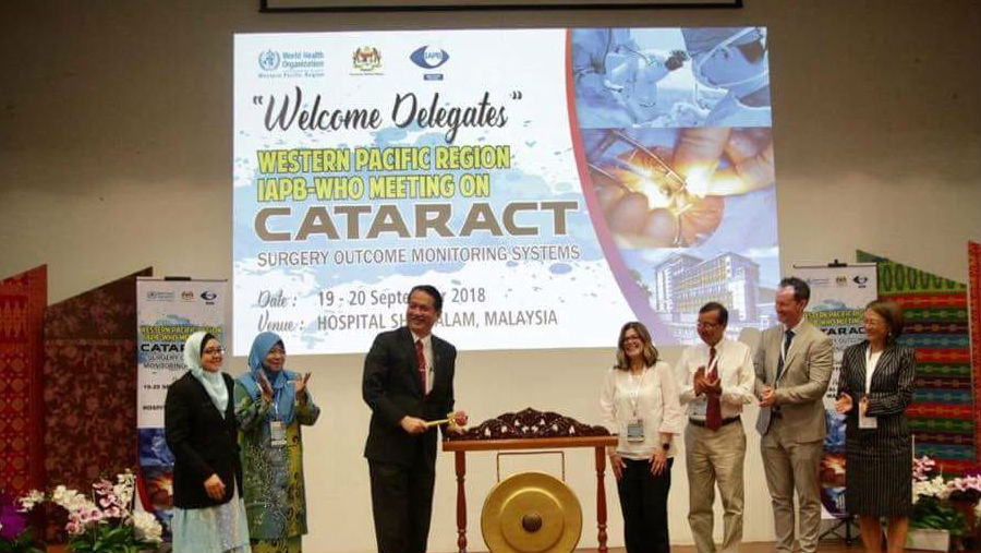 Western Pacific Region meeting in Malaysia/ Story: Western Pacific Cataract Surgery Outcomes Meeting