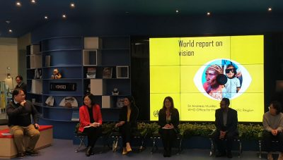 World Report on Vision launch Seoul