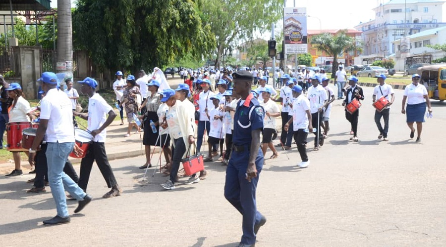 World Sight Day Walk, Nigeria