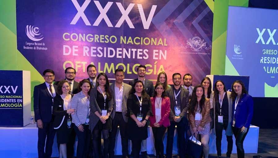 XXXV Congress Group; Historia del Congreso Nacional de Residentes en Oftalmología A 35 años de su fundación