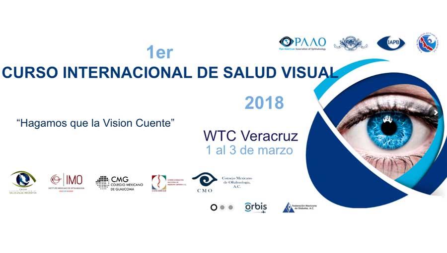 Primer Curso Internacional De Salud Visual Veracruz 2018.