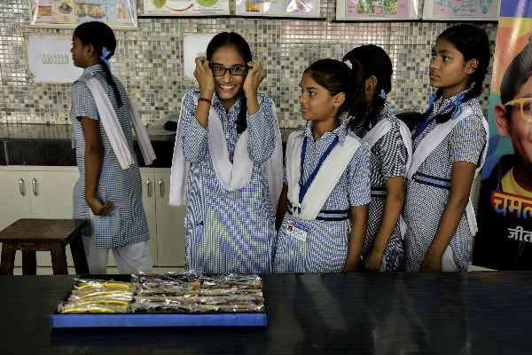 Excitement of trying new eyeglasses for the very first time and hope to see blackboard clearly - Seema Sharma