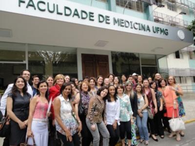 Oftalmólogos y terapeutas do I Proyecto Internacional Baja Visión en Belo Horizonte y Recife