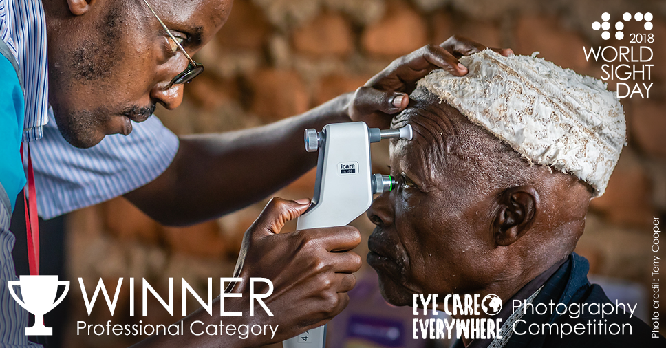 #EyeCareEveryWhere Photo Competition Winners; Terry Cooper