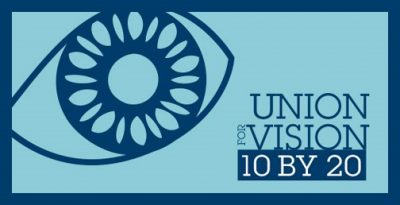 union for vision 10 by 20 logo