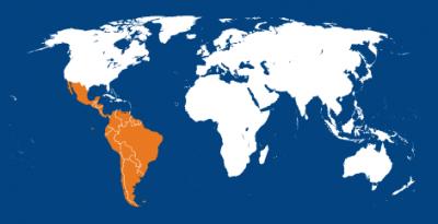 Latin america iapb map iapb latin america iapb map gumiabroncs Choice Image