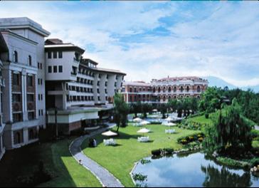 Yak and Yeti hotel exterior