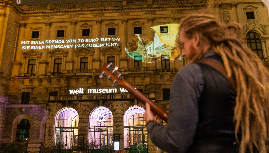 Light for the World beam message of hope for the blind and visually impaired at World Museum