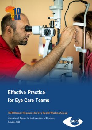 Effective Practice for Eye Care Team Case Studies